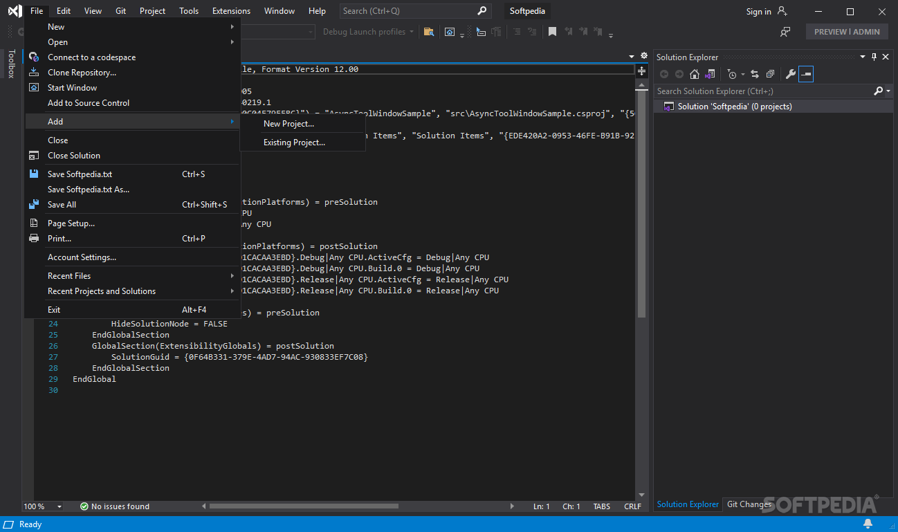 Visual Studio Community 2019