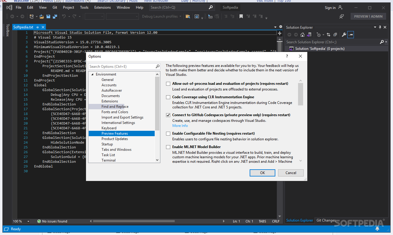 Download Microsoft Visual Studio Professional 2019 16 2 5