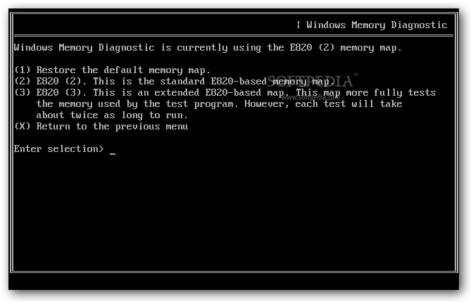 Microsoft Windows Memory Diagnostic screenshot 6