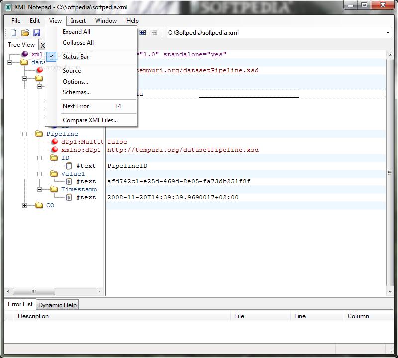 Msxml microsoft xml tools.