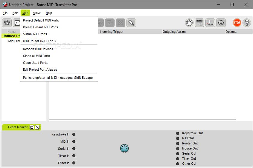 Download Bome S Midi Translator Pro 1 8 3 Build 892