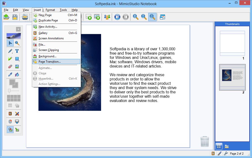 logiciel mimio studio gratuit