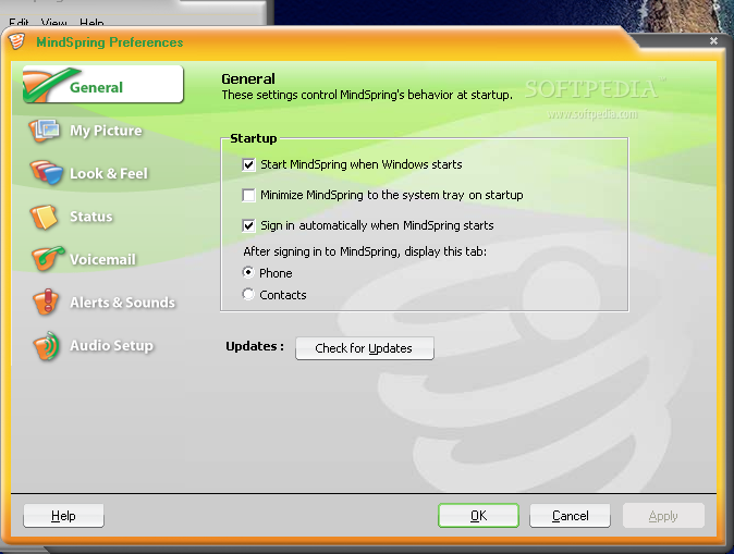 s chat voip email clients windows
