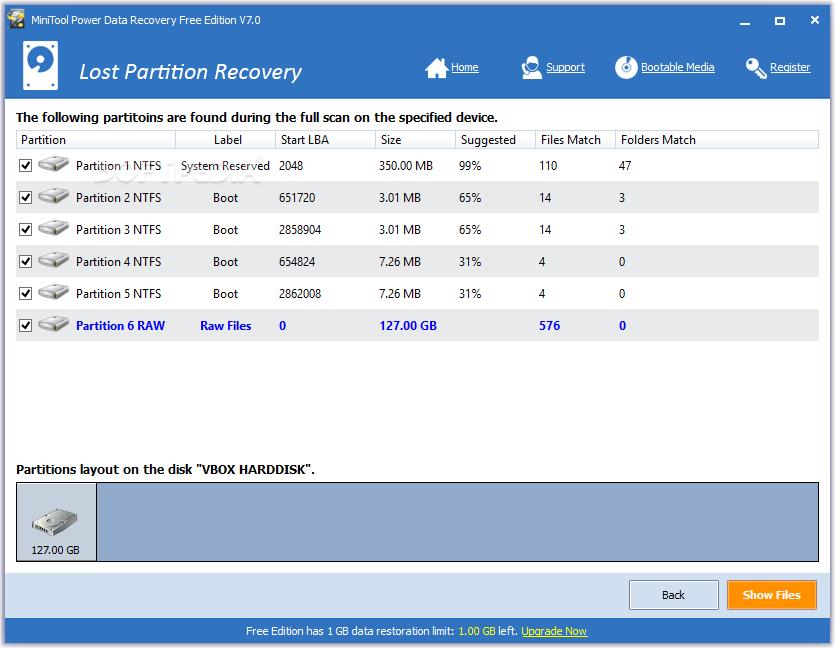 mini tool power data recovery free
