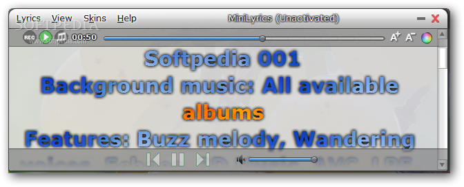 Minilyrics for winamp download