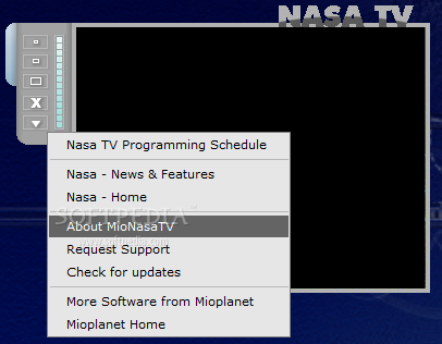 Mio Nasa TV Screenshots, screen capture - Softpedia