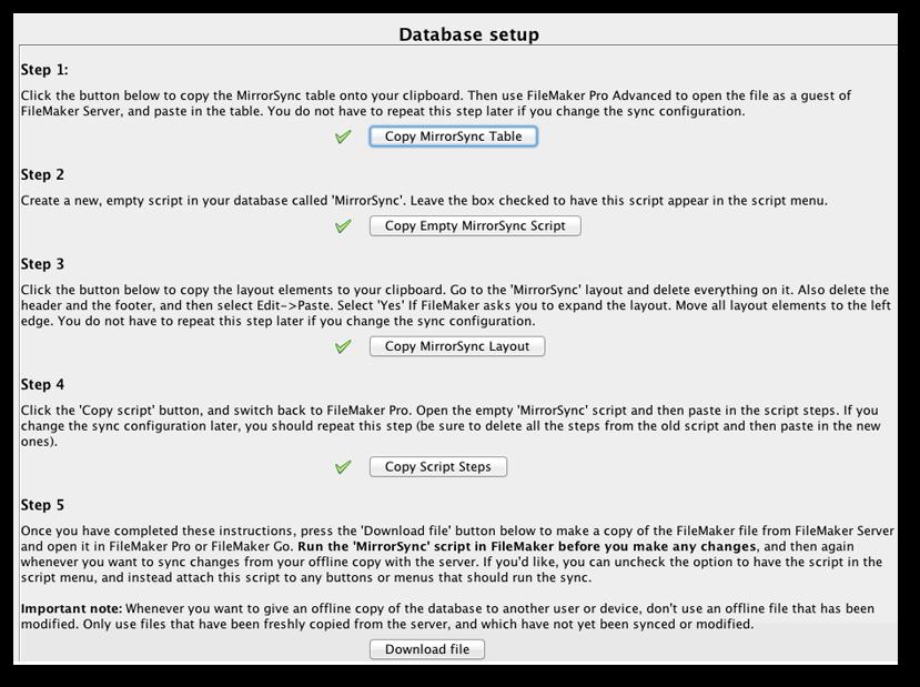 Download MirrorSync 5 0
