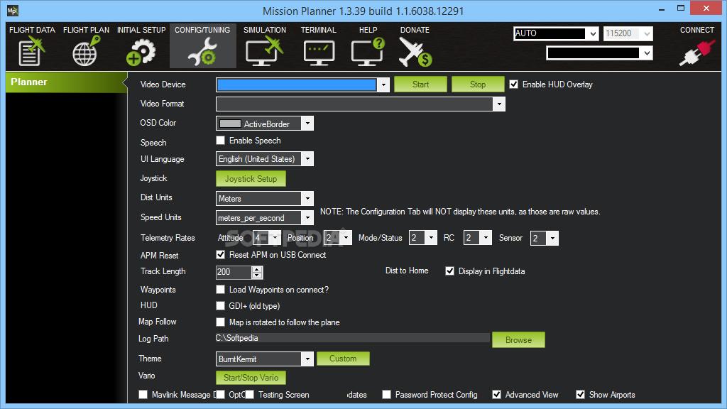 Download MissionPlanner 1 3 68