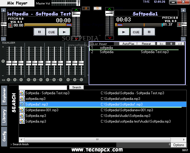 traktor how to change order of tracks in library