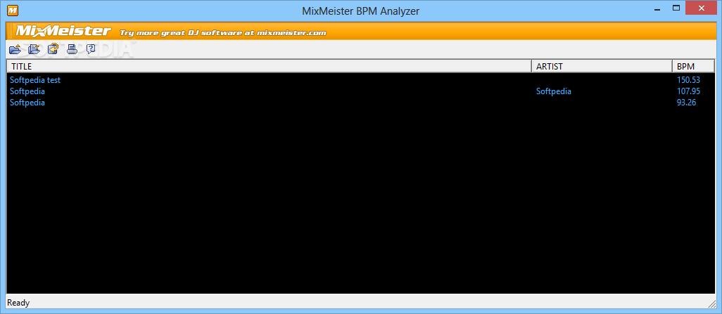 mixmeister bpm analyzer