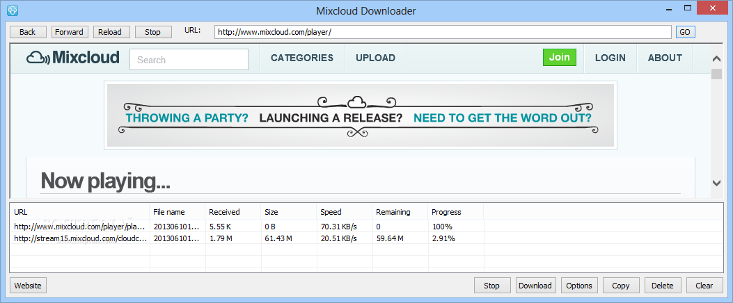 m.mixcloud downloader