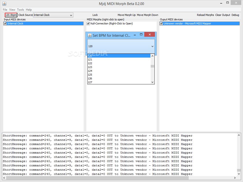 Download Mjdj MIDI Morph 0 2 00 Beta