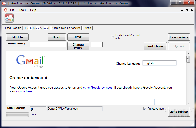 Gmail Account Creator Download