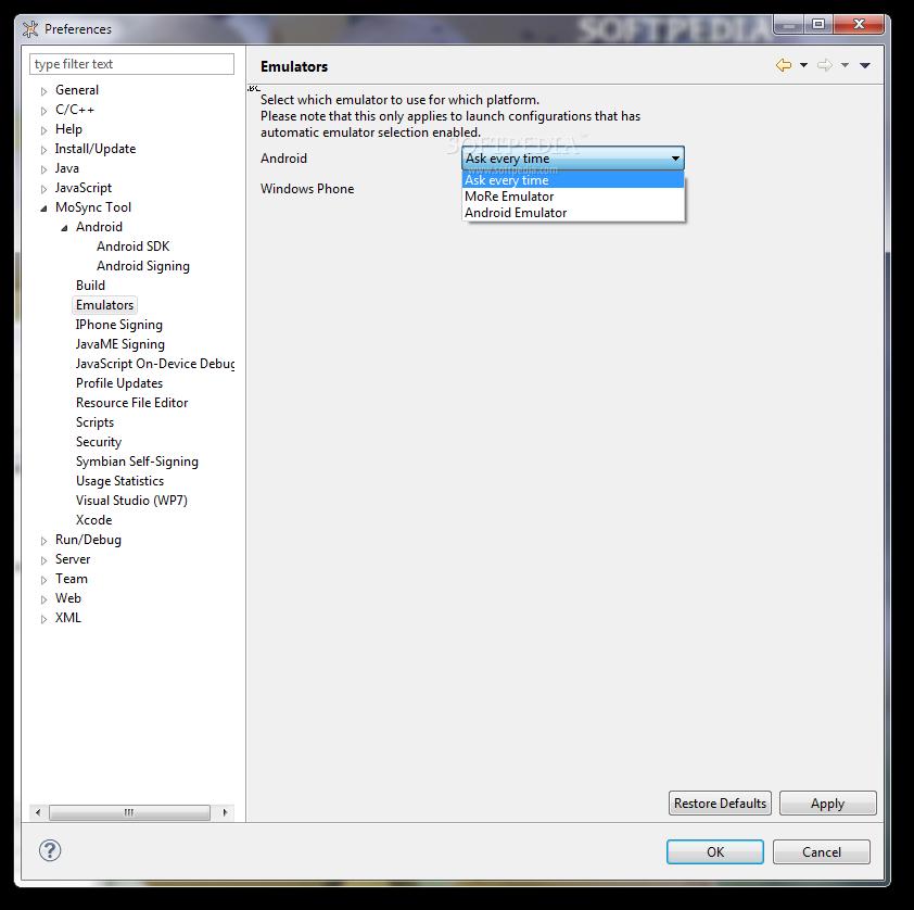 Download MoSync 3 2
