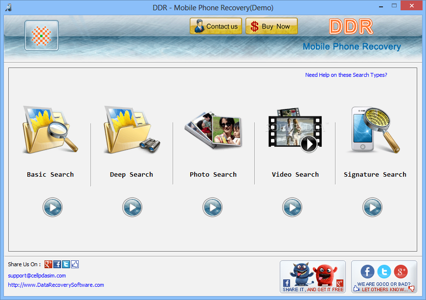 ddr data recovery software free full