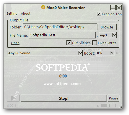Download Moo0 Voice Recorder 1 49