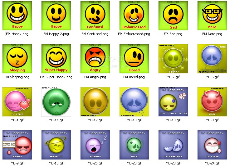 Download Mood MSN Display Pictures 1.0