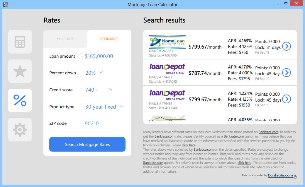 Download Mortgage Loan Calculator 1 0 0