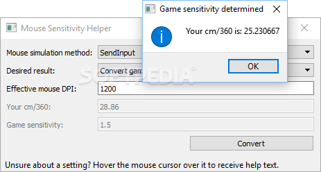 Download Mouse Sensitivity Helper 2 03