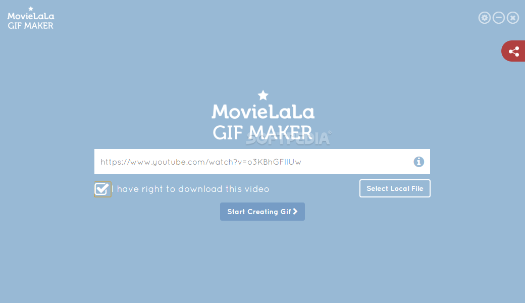 movie maker how to add gif