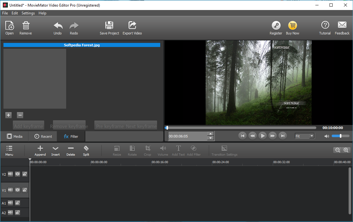 Download MovieMator Video Editor Pro for Win 2 6 4