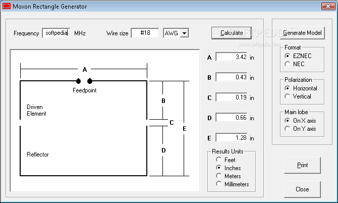 Download Moxon Rectangle Generator 1 0 0 1