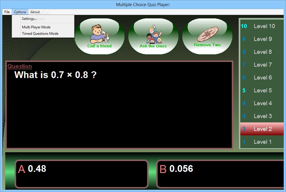 Download Multiple Choice Quiz Creator 7.0.01