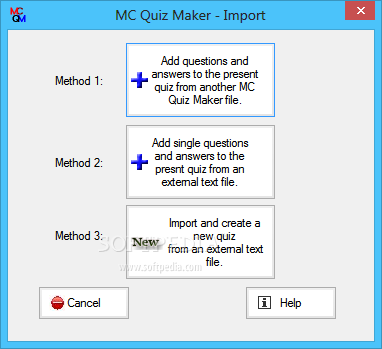 multiple choice test creator With the multiple-choice test creator you can make a questionnaire to entertain users and followers of your social networks and online channels.