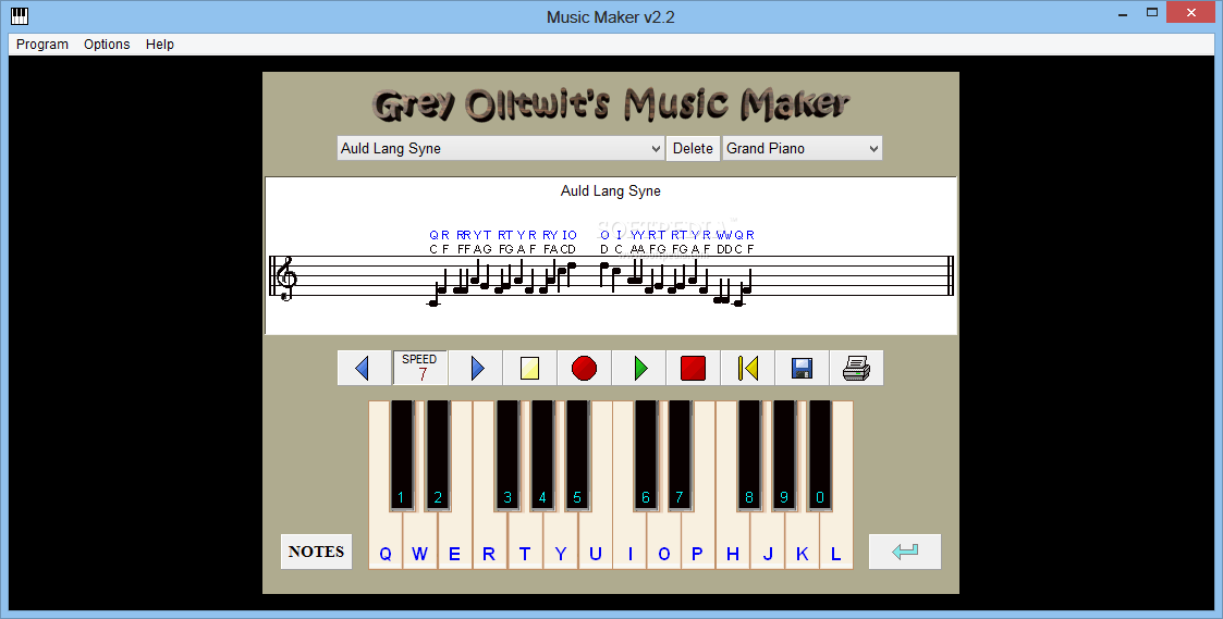how to use magix music maker keyboard