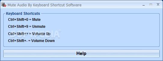 volume key shortcut