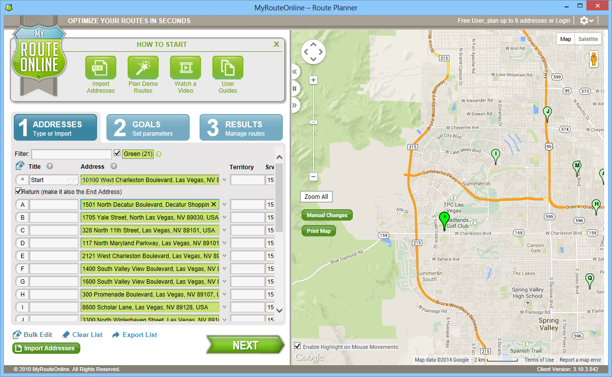 download myrouteonline route planner 3 10 0 1