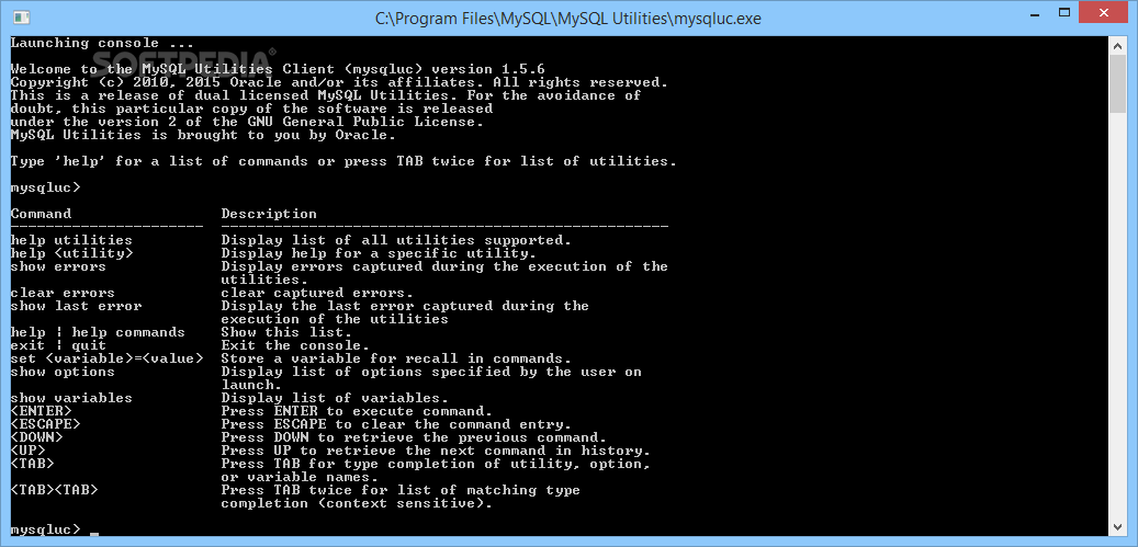 Download MySQL Utilities 1 6 5