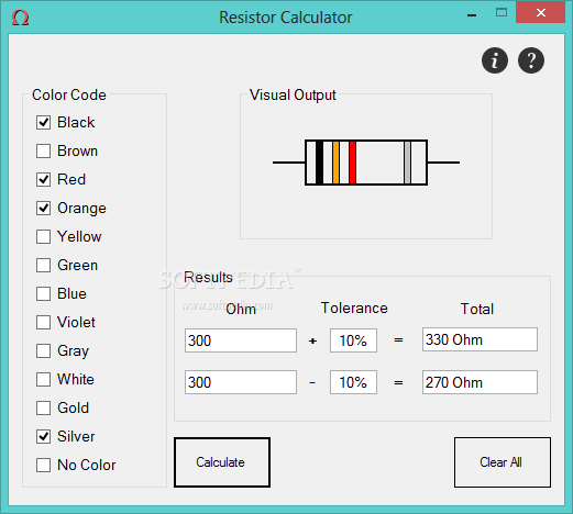 Band Resistor Calculator Electronics and Electrical Engineering