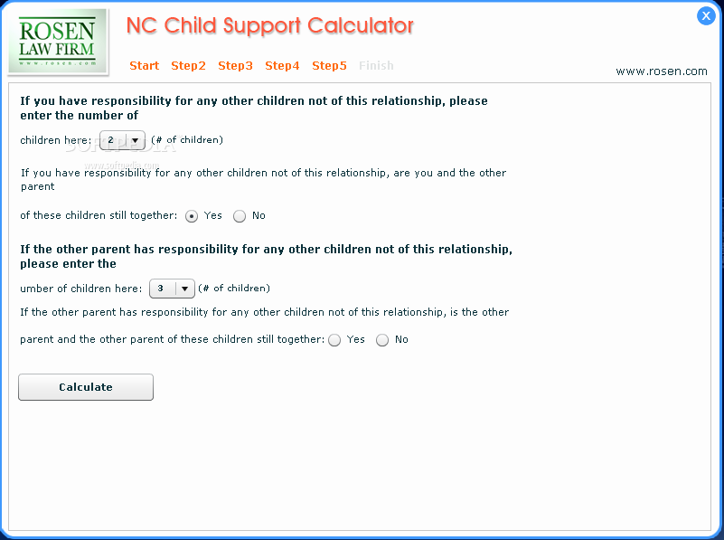 {nc child support calculator worksheet b Termolak – Nc Child Support Worksheet B