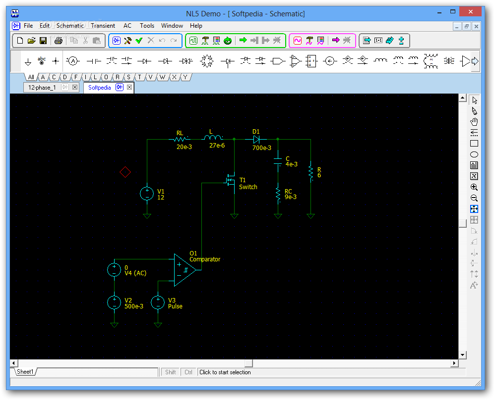download nl5 circuit simulator 2 5 build 1 rh softpedia com