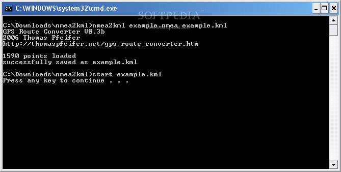 Download NMEA2KML Converter 0 7 beta