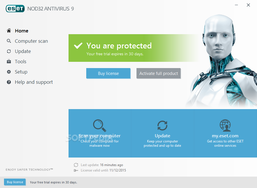 License key software eset nod32 antivirus 9 (free download) youtube.
