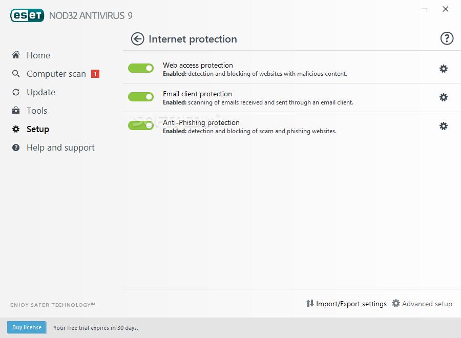 eset offline update installer