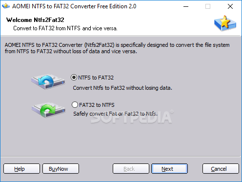ntfs to fat32 converter software free download