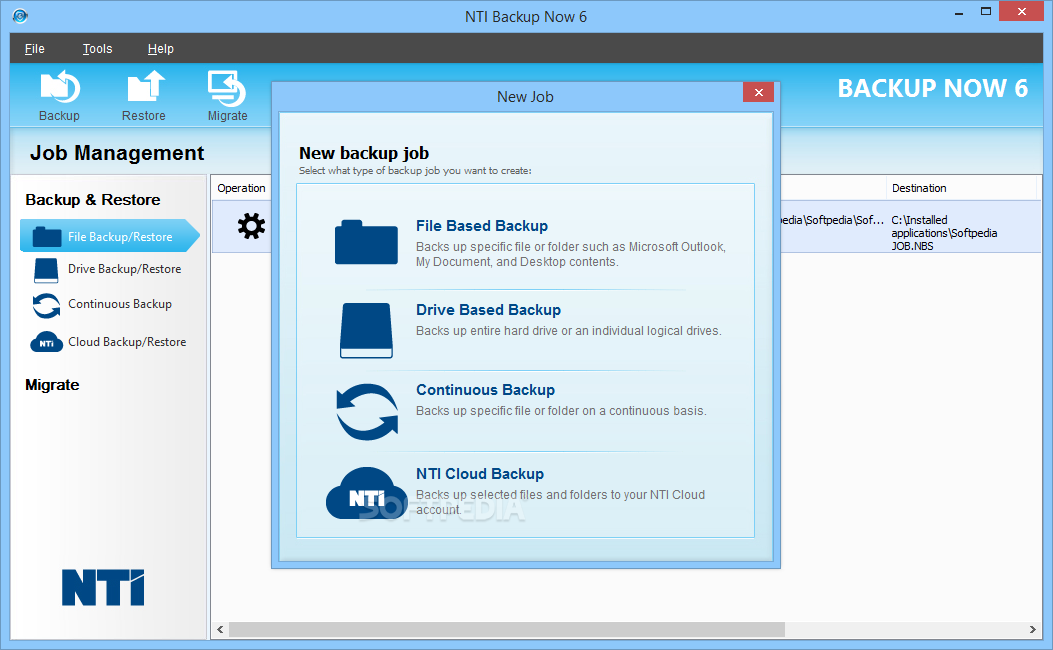 nti backup now deluxe gratis