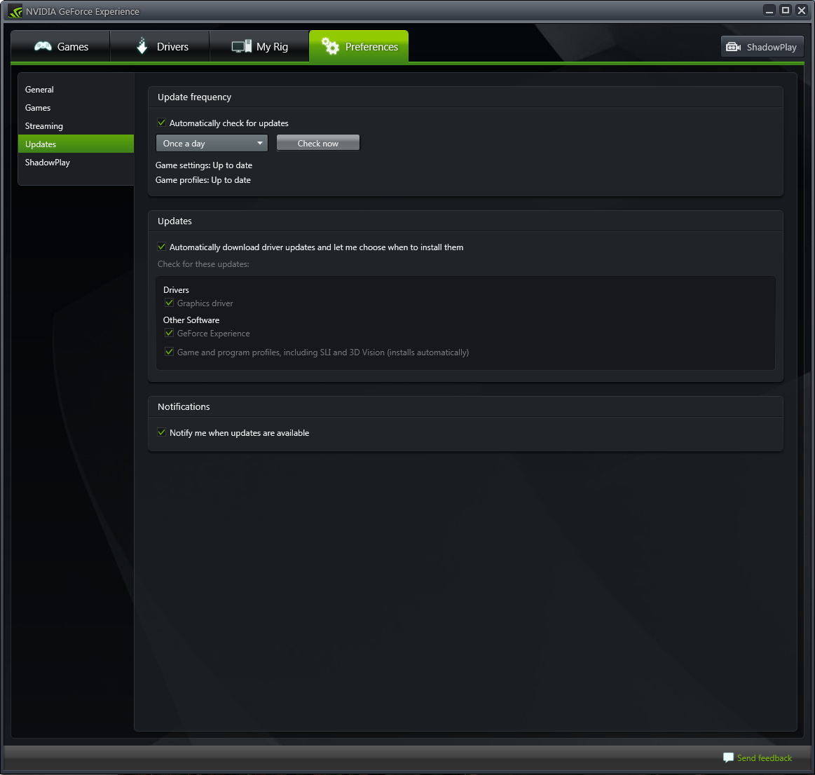 WatFile.com Download Free NVIDIA GeForce Experience Download
