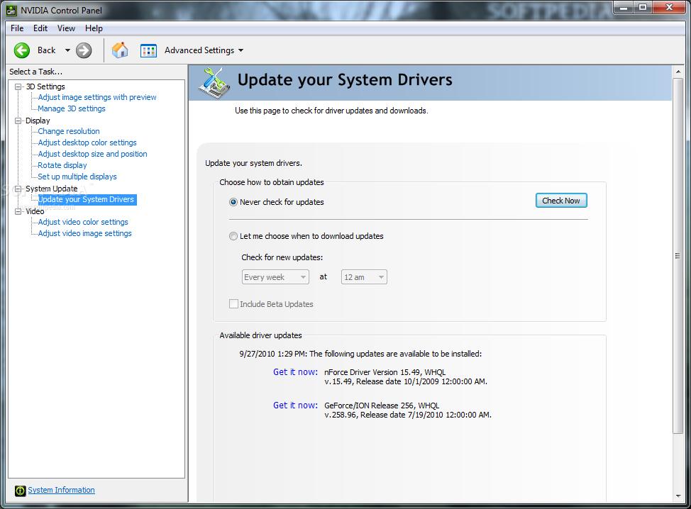 Download NVIDIA System Tools 6 08