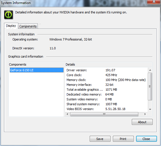 Nvidia system Windows 8 X64 Driver Download