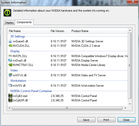Download NVIDIA System Tools 6 08