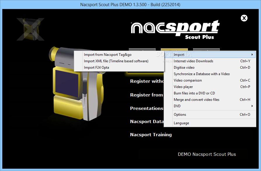 Download Nacsport Scout Plus 4 1 1