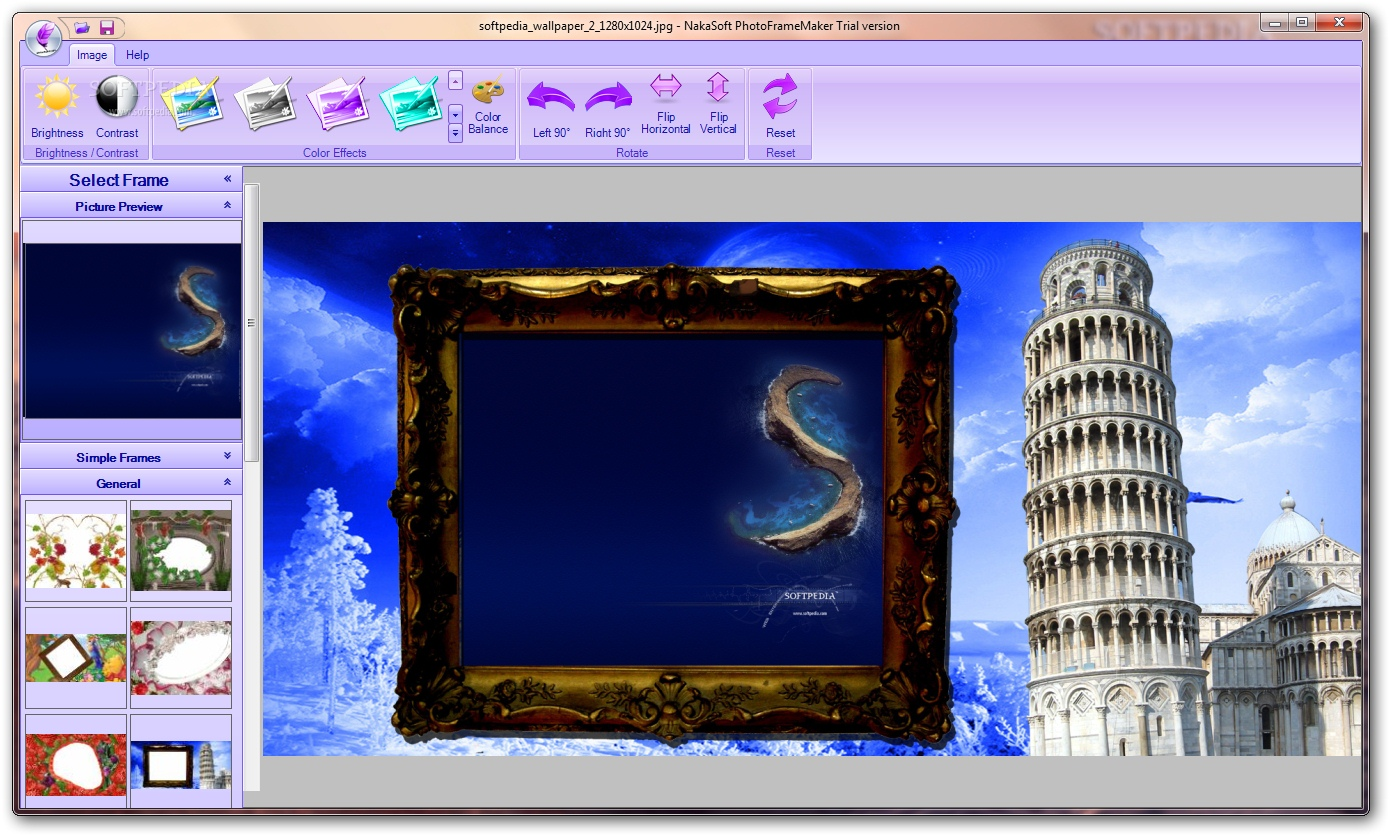 Download NakaSoft PhotoFrameMaker 1.0