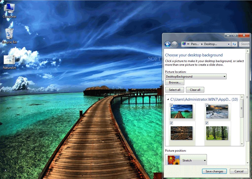 Download nature s art windows 7 theme 1 0 - Nature wallpaper free download windows 7 ...
