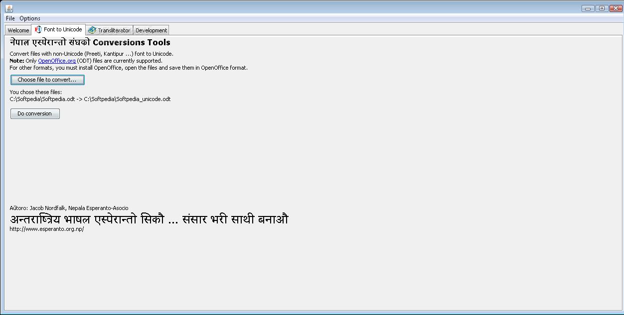 Download Nepali Converter 2009 05 05