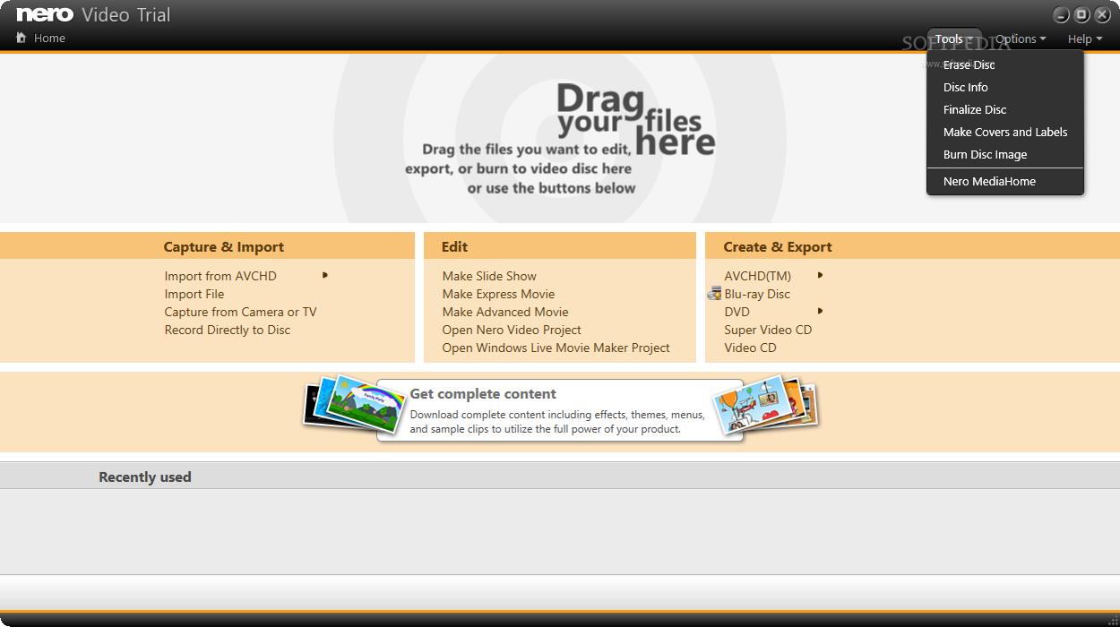 nero video editor free download for windows 7