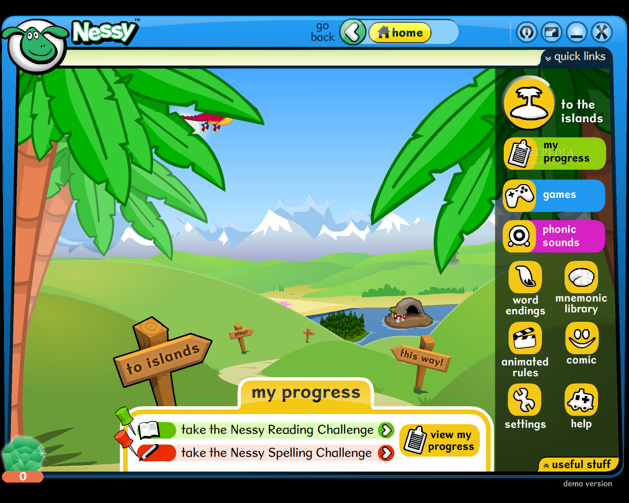 Nessy reading challenge for android download.